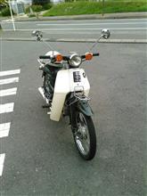 ニャンコ先生 見回り編さんのスーパーカブ50デラックス メイン画像