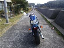 痛車180SXさんのジャズ(バイク) リア画像