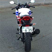 ロバぞうさんのCBR250R リア画像