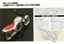 白洲 清さんのCBX250RS 左サイド画像