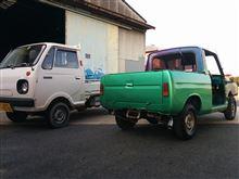 loubonさんのポータートラック リア画像
