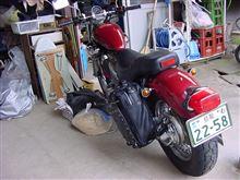 super_kabutoさんのビラーゴ400 リア画像