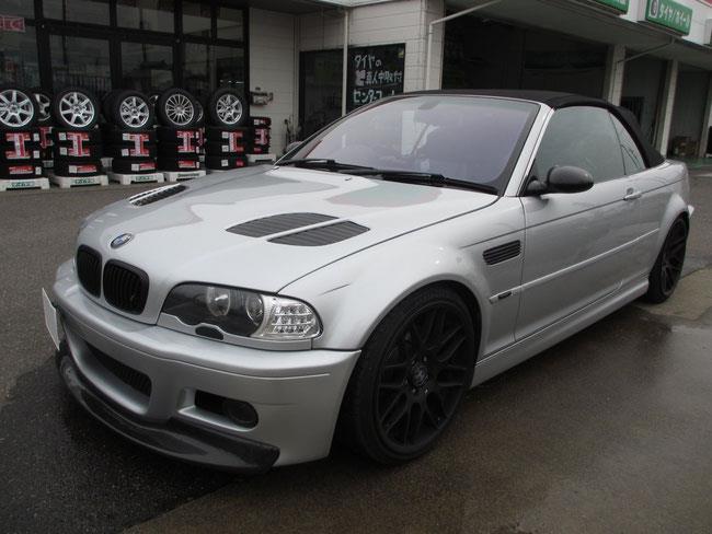 BMW M3カブリオレ