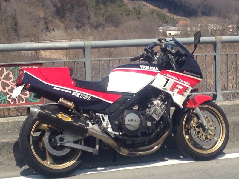 80's riderさんのFZ750