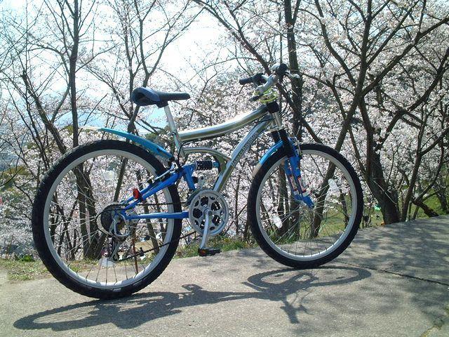 pimoさんのマウンテンバイク