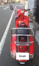 KazuSunさんのベスパ PX150 Euro3 リア画像