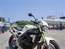 NARASHINO BASEさんのスピードトリプル1050 左サイド画像