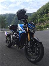 峠×シビックさんのGSR750 左サイド画像