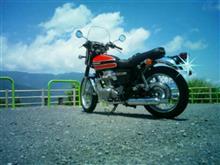 高介さんのW800 リア画像