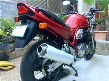 田なっくすさんのGSF1200 リア画像