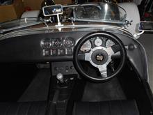 変な車に乗った高年カミナリ族さんのS3 ゼティック インテリア画像