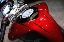 REVOLTさんのブルターレ800ドラッグスター リア画像