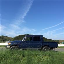 かしひなさんの愛車:トヨタ ランドクルーザー70