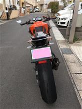ぱらりさんの1290 SUPER DUKE R リア画像