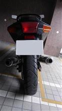 ♂みーたん♀さんのZZR250 リア画像