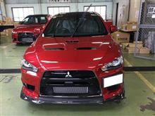 先行量産型キクチさんの愛車:三菱 ランサーエボリューションX