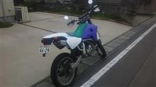 てつ♂さんのDT200WR リア画像
