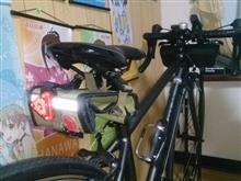 玲夜さんのクロスバイク リア画像