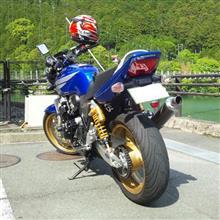 かつお氏さんのCB400 SUPER FOUR HYPER VTEC spec3 リア画像