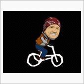 はちみつPさんの折畳自転車