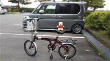 はちみつPさんの折畳自転車 インテリア画像