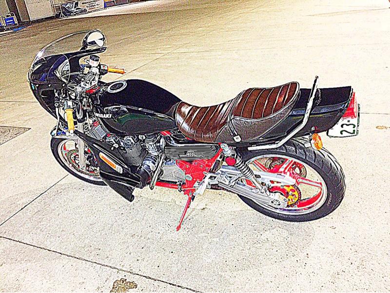 チャリ富さんのゼファー400