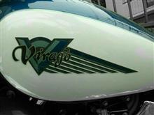 きちまるさんのXV250SビラーゴS リア画像