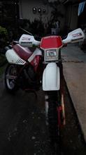 元祖かれんさんのヤマハ TT-250 オーストラリア仕様 左サイド画像