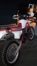元祖かれんさんのヤマハ TT-250 オーストラリア仕様 リア画像