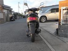 うめZさんのJOG YV50Z リア画像