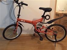 ROQUさんの折りたたみ自転車 メイン画像