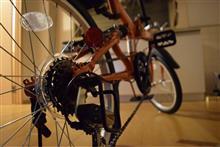 ROQUさんの折りたたみ自転車 リア画像