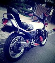 ○パさんのCBX400F リア画像