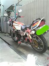 ○パさんのXJ400 リア画像