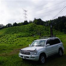 宇亜さんの愛車:トヨタ ランドクルーザー100