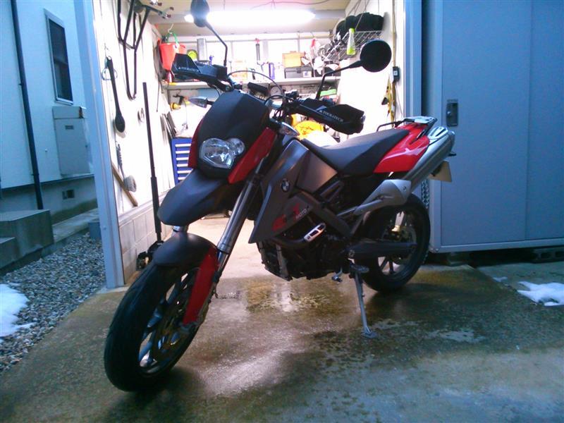 サンダ~さんのG650X moto