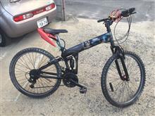 RIZECUB81ぬまごんさんのマウンテンバイク 左サイド画像