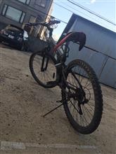 RIZECUB81ぬまごんさんのマウンテンバイク リア画像