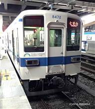 MOLEさんの東武鉄道 8000系 リア画像