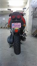 hatanao4649さんのSR125 リア画像