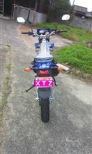 うつほさんのXTZ125E リア画像