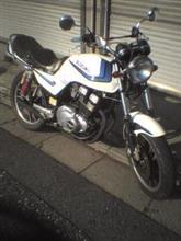 JYURIさんのGSX400E リア画像
