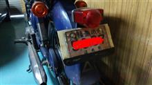 但馬屋さんのベンリC92 リア画像