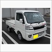 梅一輪さんのハイゼットトラック