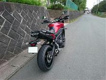 なおポンさんのMT-09 TRACER リア画像