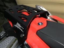 ケンズィさんのG650X moto リア画像