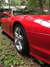 Aston3台Porsche3台さんの575Mマラネロ メイン画像