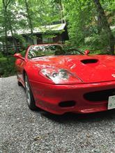 Aston3台Porsche3台さんの575Mマラネロ 左サイド画像