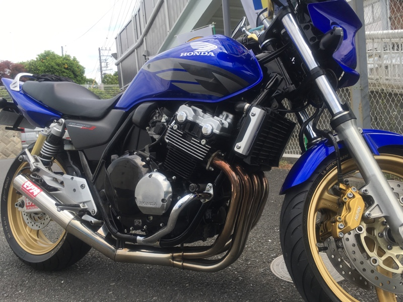 kishitoさんのCB400SF Spec3