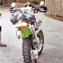 丸 ちさんのKDX-220SR リア画像